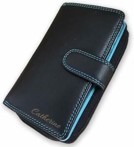 Personalised RFID Visconti Superior Quality Ladies Leather Purse Engraved Gift