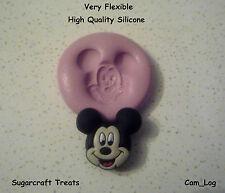 Mickey Mouse Molde de Silicona Pastelería Pastel Decoración Manualidades fimo