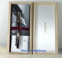 Platinum 3776 Maki-e Senmen Fountain Pen With Gold Trim 14k Gold Nib Nice