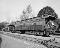 Photograph Detroit Photographic Company Lackawanna Photo Train 1901c  8x10