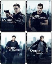 Bourne Quadrilogy Target Blu-ray Steelbook Identity Supremacy Ultimatum Legacy