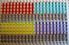 40 Lego Laserschwerter in 4 Farben mit grauen Griff