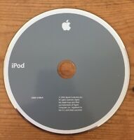 2004 Macintosh Mac iPod Music MP3 Player Application Software Installation CD