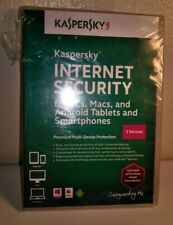 Kaspersky Lab Internet Security For PCs MACs Tablets And Smartphones 3 Devices