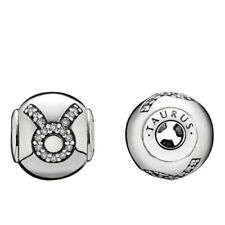 Authentic Pandora Essence Collection Sterling 925 TAURUS Charm 796035CZ Retired