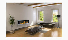 Fireplaces Biofireplaces Fire Bioethanol Fireplace 55 x 16 x 5  inches