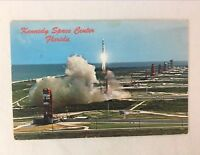 Postcard Kennedy Space Center Florida NASA Rocket C 1960s to 70s Posted