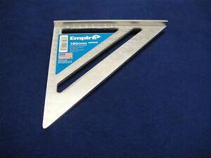 """Empire 7"""" 180mm METRIC Magnum Aluminium Quick Roofing Rafter Square 2990M"""