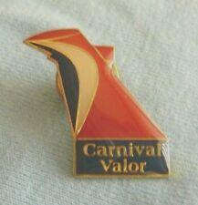 CARNIVAL CRUISE LINES VALOR Platinum Past Guest VIP lapel pin