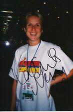 Katharine Merry  Großbritanien  Leichtathletik 3.OS 2000 Foto signiert WL 347623