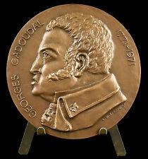 Médaille à Georges Cadoudal Chouan Brec'h Armée catholique et royale de Bretagne