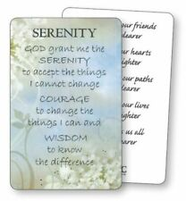 Religous Holy Card / Prayer Card : Serenity