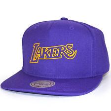 Mitchell & Ness Snapback Cap Raised Perimeter Los Angeles Lakers purple