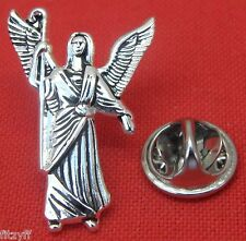 Archangel Rafael Lapel Hat Tie Pin Badge Saint St Raphael Rāfāʾēl Angel Brooch