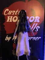 "SALE! Samara CUSTOM HORROR DOLL The Ring OOAK 12"" Figure Sadako"