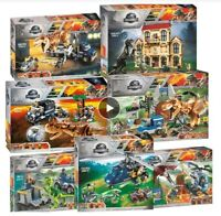 M COSTRUZIONI DINOSAURI JURASSIC PARK IDEA REGALO PREISTORIA TIPO LEGO NO BOX