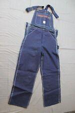 65fb2e6efc3b Vintage NWT 1960 s Workwear Pointer Brand Denim Low Back Bib Overalls 29 X  32  1