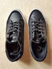 Converse Jack Purcell Nappa Leather Women's Trainers SIZE UK 4, EU 37 in BLACK