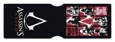 Assassins Creed Grid Videogame Card Holder Travel Holder ID Card Holder
