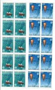 S34611 Dealer Stock San Marino 1983 MNH Europa 2v X 10 Sets