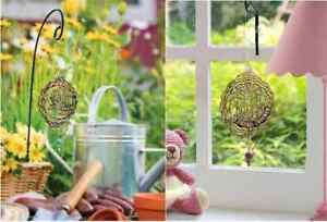 Personalised Name Dream Catcher Spinning Garden Decoration Wall Hanging Gift NEW