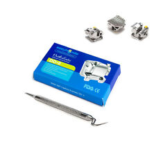 EASYINSMILE 1X Orthodontic Roth 022 Hook 3 Braces Dental Self Ligating Brackets