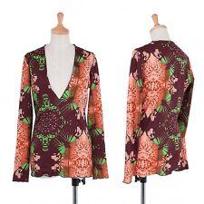 Jean-Paul GAULTIER FEMME Print Cut sew Size 40(K-41324)