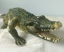 More details for schleich 19cm length plastic alligator excellent used clean condition