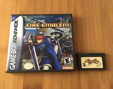 Fire Emblem w/ New Custom Case - Nintendo Game Boy Advance GBA - USA Seller!