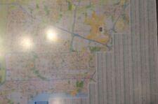 Mississauga Oakville Ontario Laminated Wall Map (G)