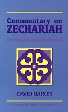 NEW - Commentary on Zechariah: His Visions and Prophecies by Baron, David