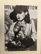 HELMUT NEWTON, 'NASTASSIA KINSKI,1983'  RARE AUTHENTIC 1983 EXHIBITION POSTER