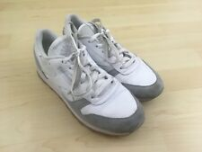 Reebok Classics Women's Size 8 US 38.5 EUR Casual Athletic Shoes White Gray Low