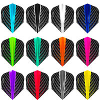 Harrows Quantum Dart Flights - 100 Micron - Std - 3D Effect 12 Colours Available