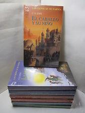 LAS CRONICAS DE NARNIA EL CABALLO Y SU NINO BK5 Spanish Literature Libro Espanol