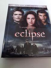 """DVD """"CREPUSCULO ECLIPSE"""" 2 DVD DIGIBOOK LIBRO EDICION ESPECIAL"""