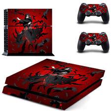 PS4 Console skin PlayStation 4 Controller decal Uzumaki Naruto Design Sticker#21