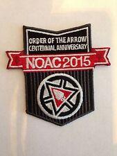 """OA (BSA) 2015 NOAC Centennial Promotion """"Uniform"""" patch -- 100th Anninversay"""