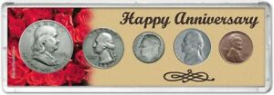Happy Anniversary Coin Gift Set, 1950
