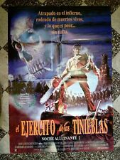Vintage Army Of Darkness Evil Dead Nche Alucinate 2 27x40 Movie Poster Argentina