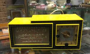 Vintage STC Tymatic Yellow Radio