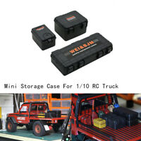Storage Box Dekoration Case Für Traxxas TRX4 Axial SCX10 90046 RC Crawler Car DE