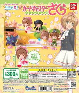 Bandai Hugcot Cardcaptor Sakura Clear Card P2 Completed Set 6pcs