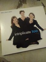 Audio CD. Misc. Intriplicate too. Wind and piano Trio. Local artists.