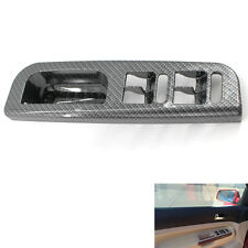 Window Switch Control Panel Cover Carbon Fiber for VW Passat Golf Jetta MK4
