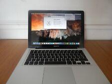 Apple Macbook pro 13-Inch Core 2 Fällig 2.53 4 GB 320 GB Mittelhoch 2009