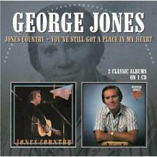 George Jones - Jones Country / You've Still Got A Place In My Heart (NEW CD)