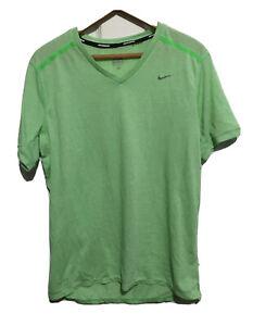 Nike Dri-Fit Running Short Sleeve T Shirt Mens Size medium
