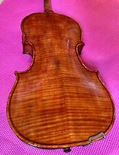 Old American? Violin Flamed Back