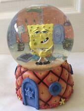Enesco Spongebob Squarepants Collectible Musical Snow Globe with Gary Snail